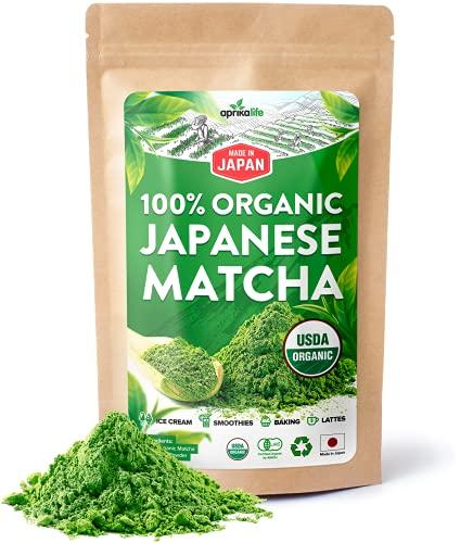 AprikaLife Organic Japanese Matcha …
