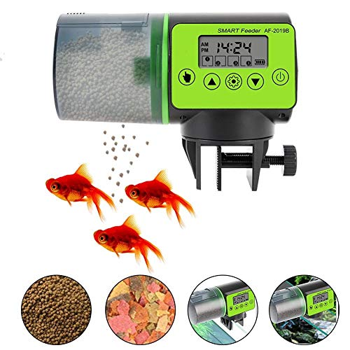 JLCN Alimentador automático de Peces de...