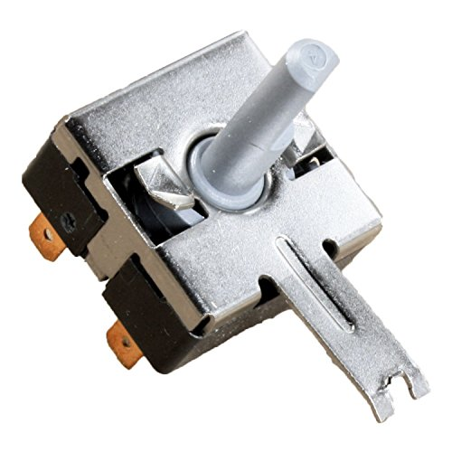 Compatible Rotary Start Switch for Hotpoint HTDP120ED0WW, General Electric DBXR463ED1WW, General Electric DQSR483EE1WW, General Electric NBXR463EB2WW Dryer