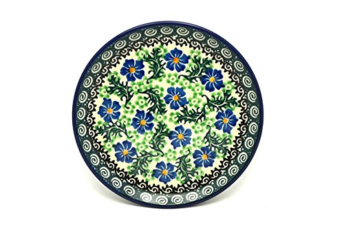 Polish Pottery Plate - Bread & Butter (6 1/4') - Sweet Violet