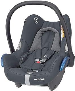maxi cosi cabriofix Maxi-Cosi CabrioFix Babyschale, Baby-Autositze Gruppe 0 0-13 kg, nutzbar bis ca. 12 Monate, passend für FamilyFix-Isofix Basisstation, Essential Graphite grau
