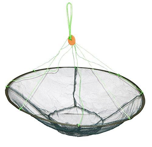 魚すくい 魚捕獲 一網打尽 直径1m タモ網 (収納時35cmでコンパクト)小魚・メダカ・ザリガニ・タニシ