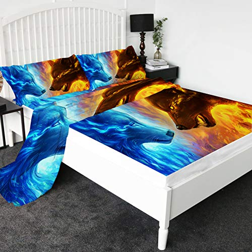 wolf bed sheets - 2