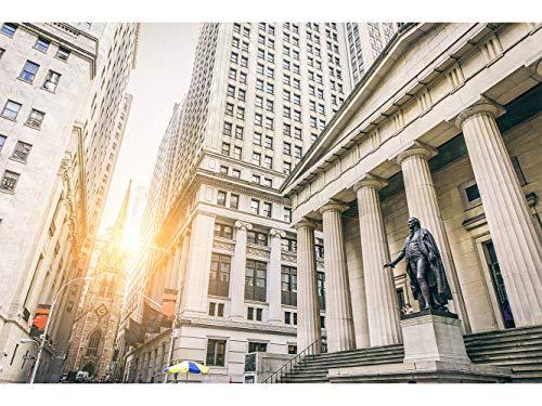 Oedim Papier Peint Auto-Adhésif | Vues de Wall Street | 500 x 300 cm | Décoration muraux de Chambre