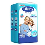 Liberty Eco Adult Diaper Pants Unisex, Medium 20 Pcs, Waist Size (61-115 cm | 24-45 Inches)