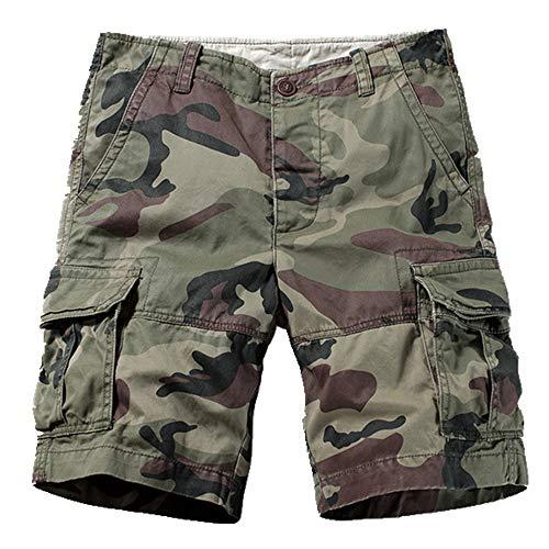 N\P Pantalones cortos tácticos de camuflaje para hombre, transpirables, para escalada, senderismo, deportes
