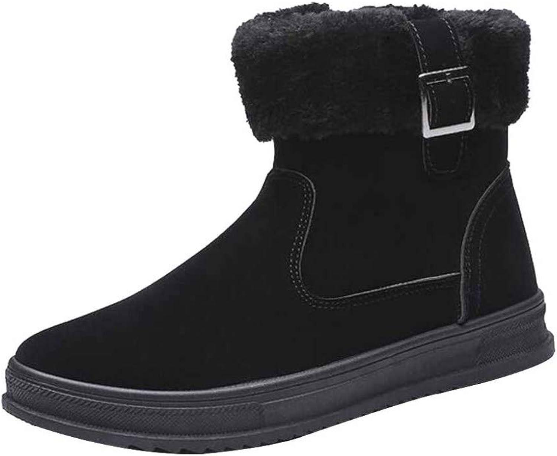 Snow Boots Winter Plus Velvet Men's Cotton shoes Thick Warm High-top Sports Casual Men's shoes