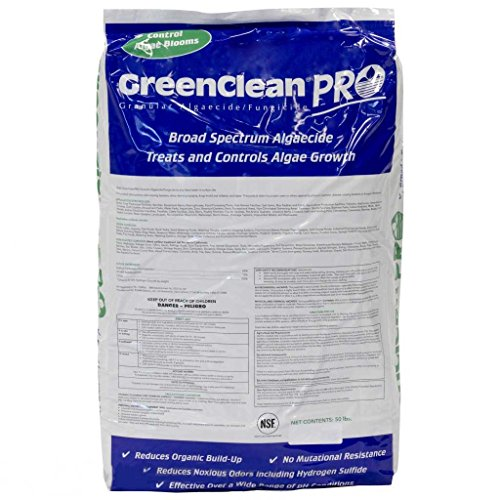 GreenClean Pro Granular Algaecide, 50 lbs