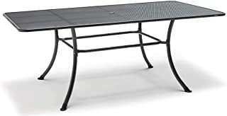 KETTLER Mesh Top Table in Gray