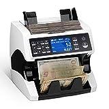 MUNBYN Money Counter Machine Mixed Denomination Bill Counter and Sorter, 2 CIS/UV/MG/MT/IR...