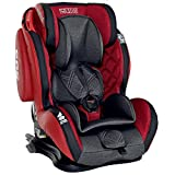LCP Kids GT Comfort Auto Kindersitz 9-36 kg Isofix Liegefunktion SPS Seitenschutz Rot