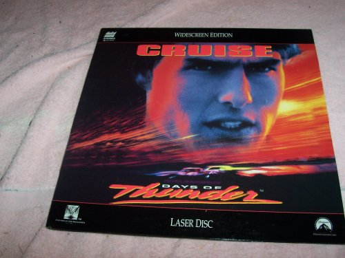DAYS OF THUNDER-laserdisc-not a vhs or dvd-need a laserdisc player