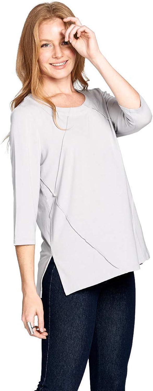 Fashion Focus Modal ALine Side Slit Knit Top