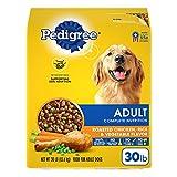 PEDIGREE Complete Nutrition Adult Dry Dog Food Roasted Chicken, Rice & Vegetable Flavor Dog Kibble, 30 lb. Bag