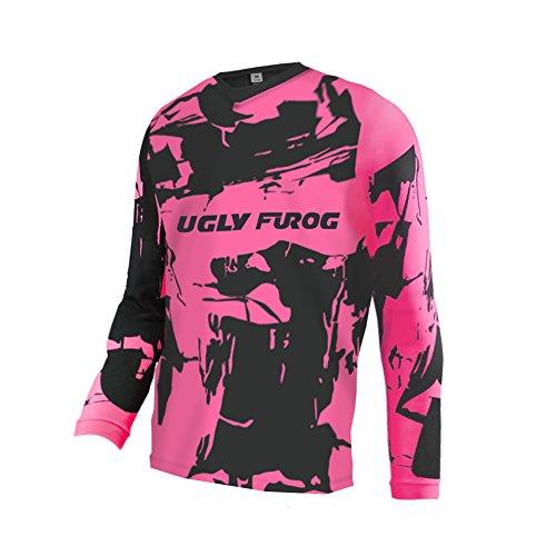 UGLY FROG Herren Element Racewear Motocross Jersey MX Enduro Downhill Trikot Mountain Bike Motorrad Wear Top Schutzkleidung Innen