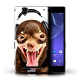 Stuff4 Phone Case for Sony Xperia T2 Ultra Funny Animals