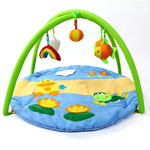 Best Review Of Limaomao Baby Play Gym Mat Active Gym Fun Animals, Baby Play Mats for Baby Boys and G...