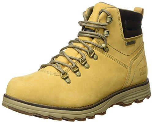 Cat Footwear Sire WP, Botas Hombre, Amarillo (Mens Honey Reset), 43 EU