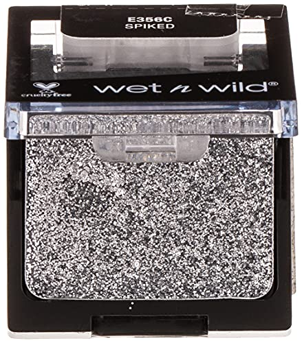 Wet n wild - COLOR ICON EYESHADOW GLITTER SINGLE - Ombre à paupières - Texture soyeuse - Teinte spiked - Made in US - Cruelty Free - Produit Vegan