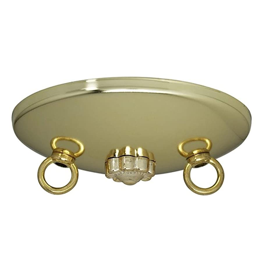 Satco Bath Swag Canopy Kit Brass Fin 5