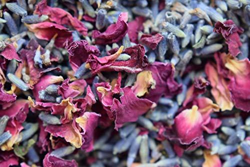 Pétale de rose & mélange de lavande - 1 kg