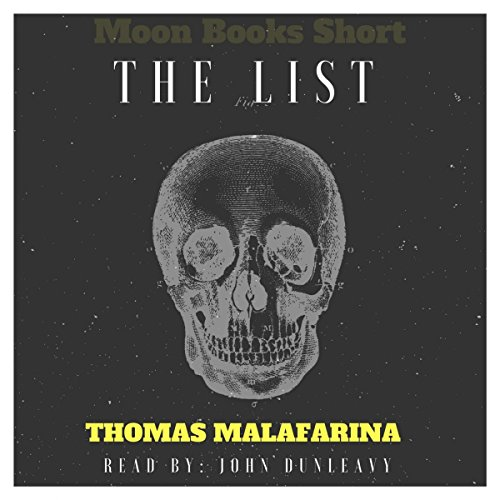 The List: Moon Books Shorts audiobook cover art