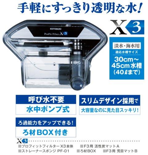 寿工芸『プロフィットフィルターX3』