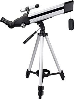 National geographic telescope,60mm Aperture 500mm Mount Astronomical Refracting,HD Low Light Night Vision,Portable Travel ...