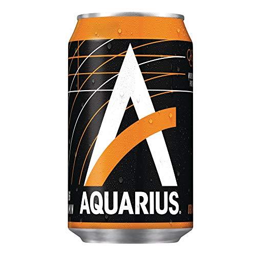 Aquarius Orange (24 x 0,33l Dose) EINWEG inkl. gratis FiveStar Kugelschreiber