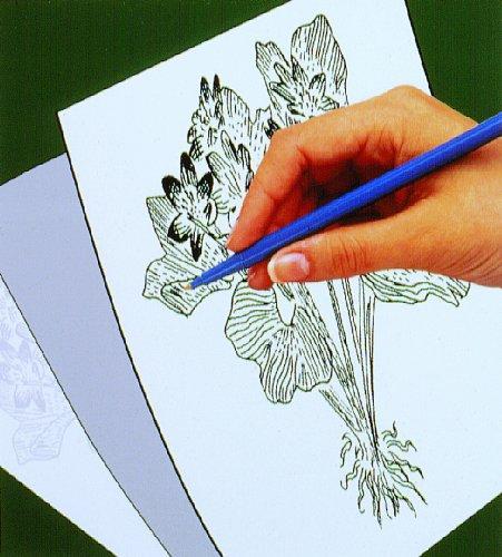 Scratch-Art Art and Craft Trace-It White Transfer Paper
