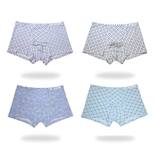 CK STORM mannen ondergoed Boxer broek 50S Modal U Convex tas middelgrote taille Boxer (4 paar)