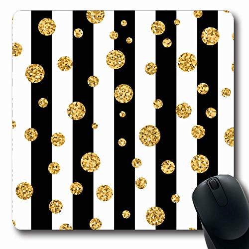 Mousepad Polka Holiday Pattern Punkt Auf Chaotischen Linien Textil Texturen Glow Holidays Stripe Einladung Luxus Rutschfeste Computer Gummi Laptop Mausmatte 25X30Cm Längliche Arbe