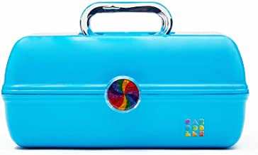 Caboodles Rainbow Rad - On-The-Go Girl Makeup Organizer, Bright Turquoise