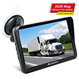 Sat Nav, Aonerex 9 Inch GPS Navigation System Pre-Installed 2020 Europe UK Irel