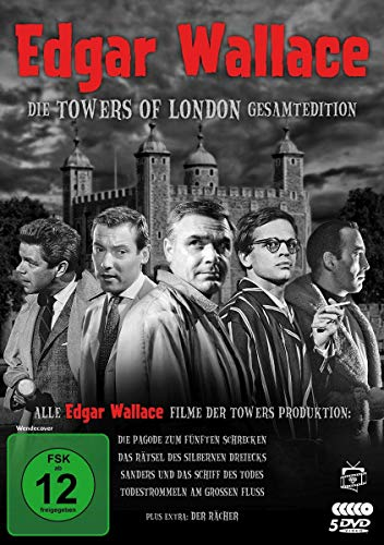 Edgar Wallace - Die Towers of London Gesamtedition [5 DVDs]