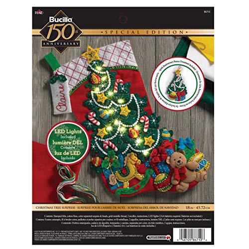 Bucilla Christmas Tree Surprise Stocking Kit (Kitchen)