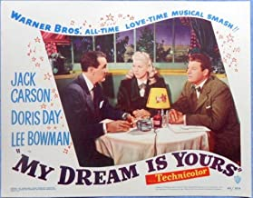 MY DREAM IS YOURS Lobby Card #3 Doris Day Lee Bowman Jack Carson 1949