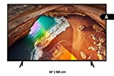 "Abbildung Sony KD-49XG8396 - Fernsehen 49"" 4K Ultra HD HDR LED mit Android TV (Motionflow XR 1000 Hz, 4K HDR Processor X1, Bildschirm TRILUMINOS, Wi-Fi), schwarz"