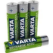batterie rechargeable Varta Accu Ready2Use AAA Ni-Mh (4-pièce, 1000 mAh)