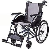 Sillas de ruedas eléctricas para adultos Autopropulsada silla de ruedas, 45cm,...