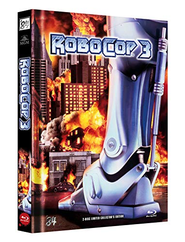 RoboCop 3 - 2-Disc Limited Collector's Edition - Uncut - Mediabook, Cover B (+ DVD) [Blu-ray]