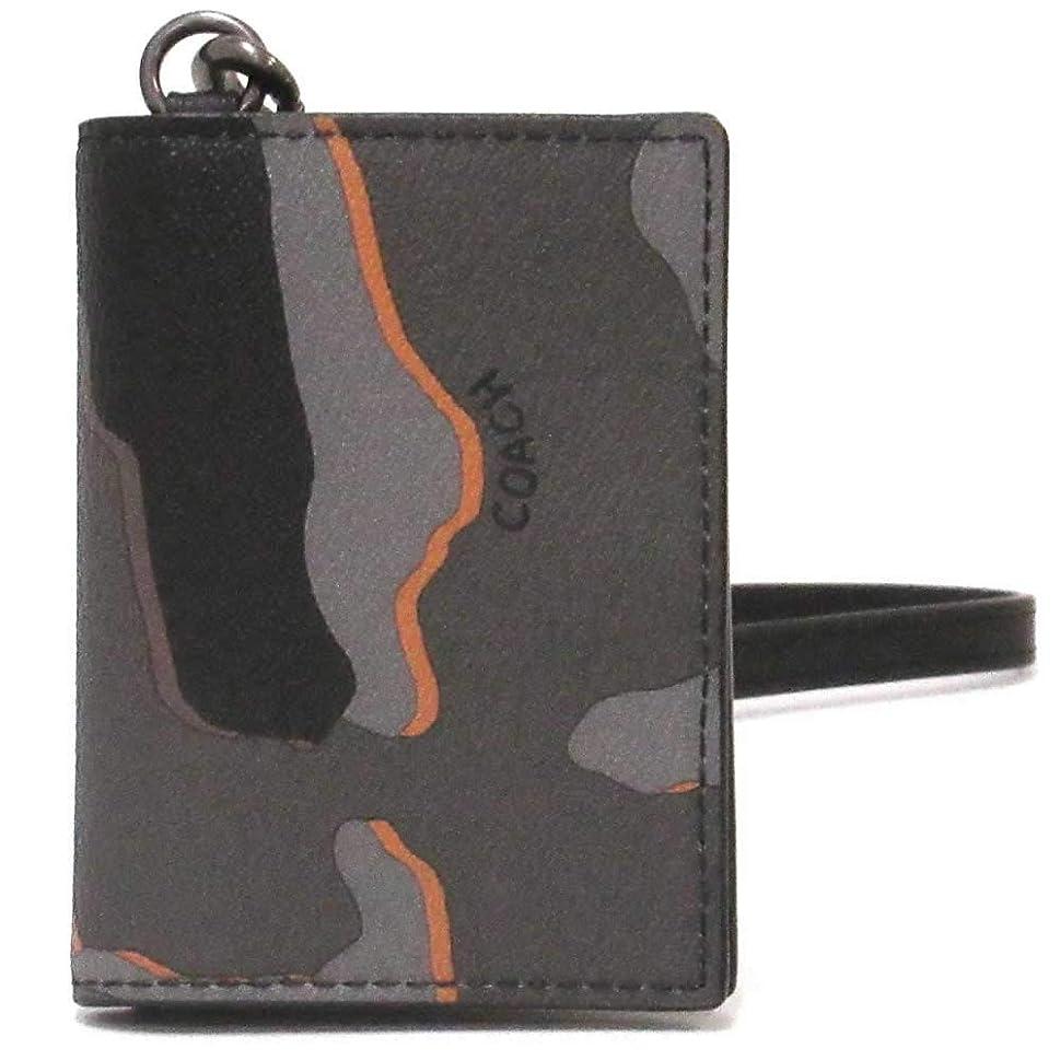 に関して製造二年生コーチ カードケース COACH アウトレット カモフラージュ プリント ランヤード メンズ IDケース F31528 QBGRM [並行輸入品]