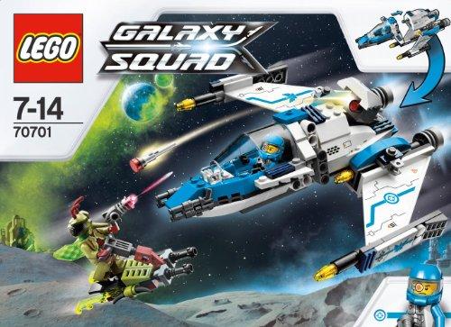 LEGO Galaxy Squad - 70701 - Jeu de Construction - L' intercepteur Cosmique