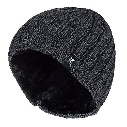 Heat Holders - Bonnet - - Uni Homme Multicolore Bigarré taille unique - Gris - Gris - Taille unique