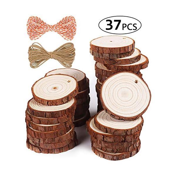 5ARTH Natural Wood Slices