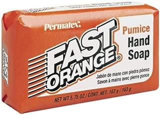 Permatex 25575-24PK Fast Orange Pumice Bar Hand Soap, 5.75 oz. Bar (Pack of 24)