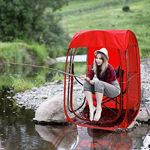 N/J Pop Up Tents, Canopy For Fishing, Outdoor Sport Events Watching Tent, Folding Camping Outdoor Sun Protection Camping Tarp For Picnic Hiking Outdoors Beach Sport Events Watching