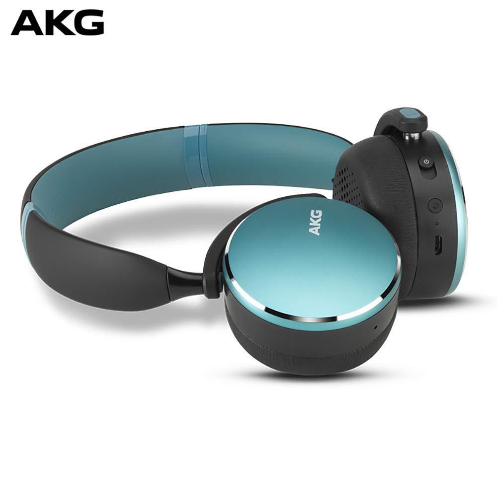 AKG Y500 WIRELESSワイヤレスBluetoothヘッドセットヘッドセットゲーミングヘッドフォンユニバーサル環境Perseive Call Green