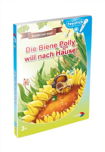 Toystick Buch - Lesen mal anders - Die Biene Polly will nach Hause