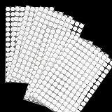 Klettpunkte Selbstklebend,Klett Klebe Punkte 1008 Stück Klettverschluss 504 Paar Schlaufe Punkte Self Adhesive Klebend Hakenband Haken und Schlaufe Aufkleben und Robust Klettpunkte für...